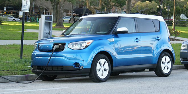 Kia Soul Ev Plugged In And Charging Kia Soul Ev Forum